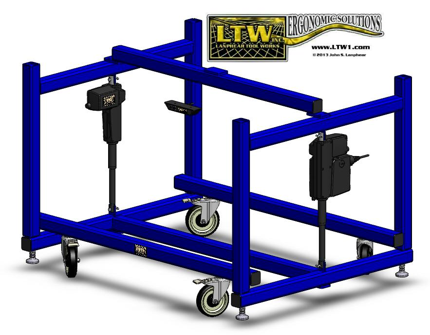 LTW Ergonomic Solutions E2 LC Industrial Base