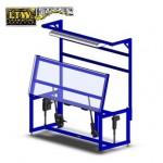 LTW, Inc. LTW Ergonomic Solutions E2 Tilt Industrial Workstation