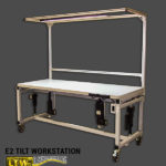 E2 Tilt Workstation Custom Made To Order Tilting and Height Adjustable Workstation