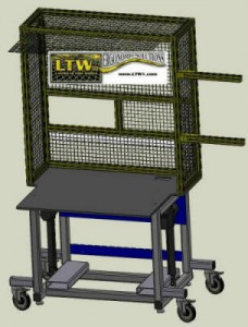 LTW, Inc. LTW Ergonomic Solutions E2LC Industrial MTO Base