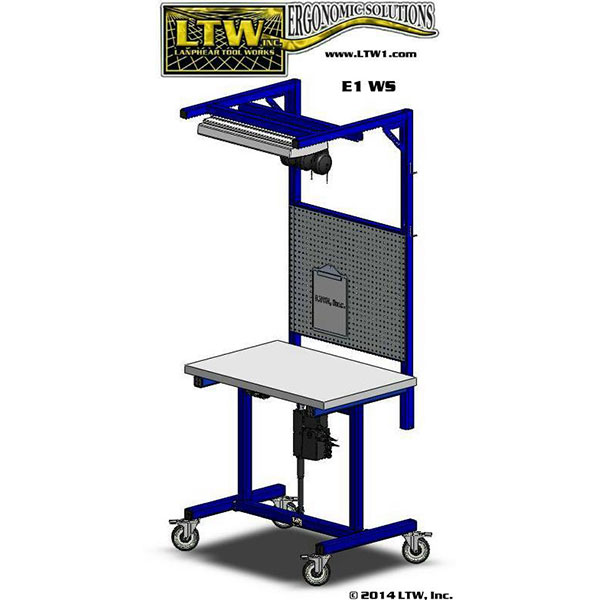 LTW Ergonomic E1 Workstation