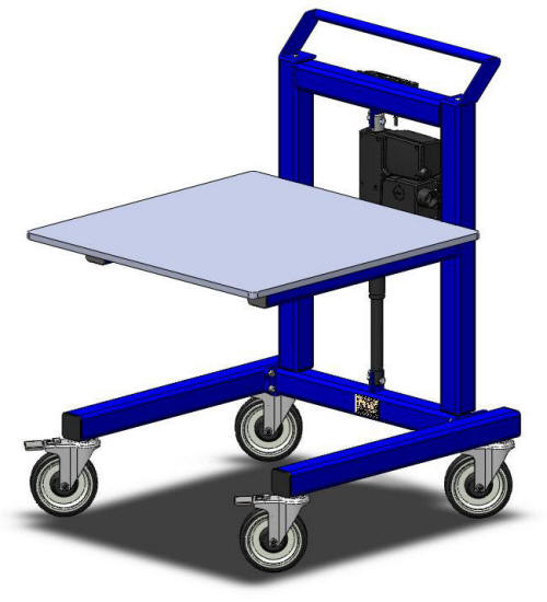 LTW LTW Ergonomic Solutions E1 Industrial Cart get your ergonomic on