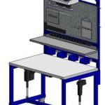 LTW, Inc. LTW Ergonomic Solutions E2 Industrial Workstation
