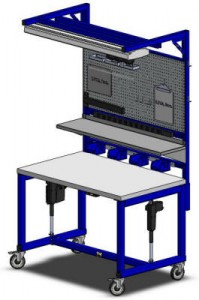 LTW, Inc. LTW Ergonomic Solutions E2 Industrial Workstation