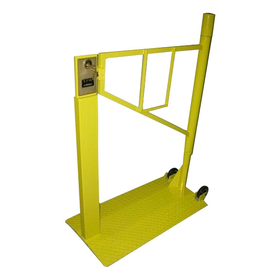 Portable safety gates ltw ergonomic solutions ltw inc ltw ergonomic solutions industrial portable safety gate sciox Image collections