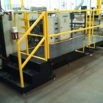 Industrial Fixed Steps Operator Lift Platform