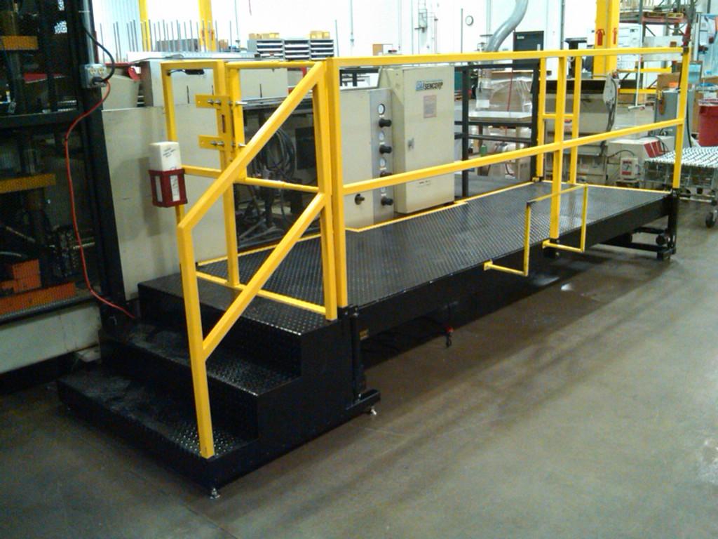 Height Adjustable Operator Lift Platform by LTW Ergonomic Solutions