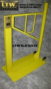 LTW, Inc. LTW Ergonomic Solutions Industrial Portable Safety Gates