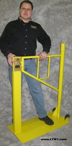 LTW, Inc. LTW Ergonomic Solutions Industrial Portable Safety Gate