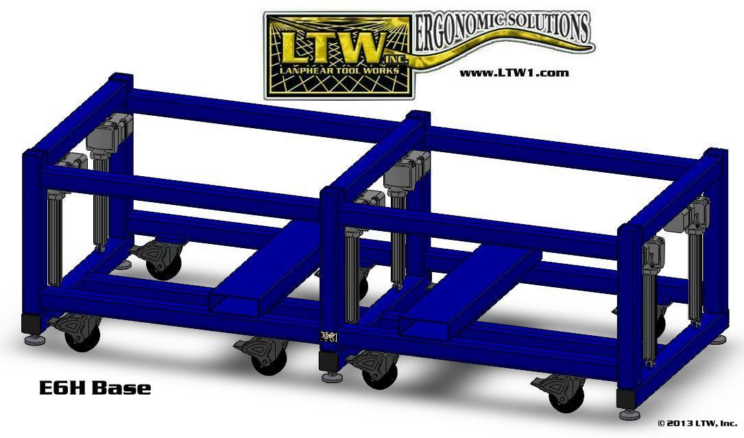 LTW Ergonomic Solutions E6H Base