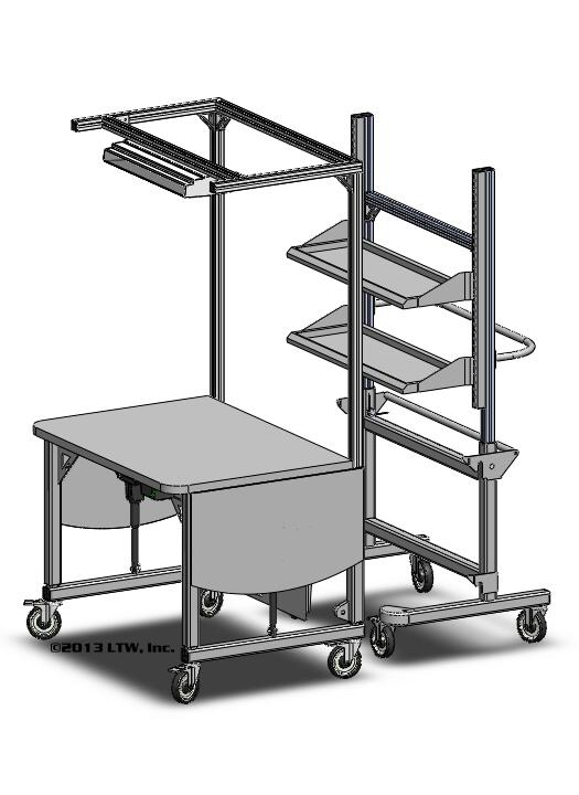 Ergonomic Rear Load Workstation LTW Ergonomic Solutions