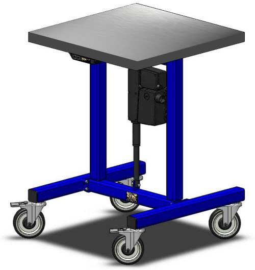 E1 Table - Height Adjustable Table - LTW Ergonomic Solutions