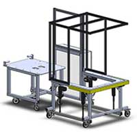 height adjustable automation workstation