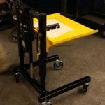 E1 Cart Gen 2 Height Adjustable Material Handling Industrial Cart - LTW Ergonomic Solutions