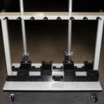 IV Pole Custom Cart for Storage and Moving LTW Ergonomic Solutiosn