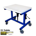 E1 Height Adjustable Ergonomic Industrial Table by LTW Ergonomic Solutions