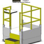 E4 Height Adjustable Operator Platform Lift - LTW Ergonomic Solutions