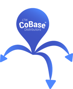 LTW CoBase Distributors Icon - With Text and Circle