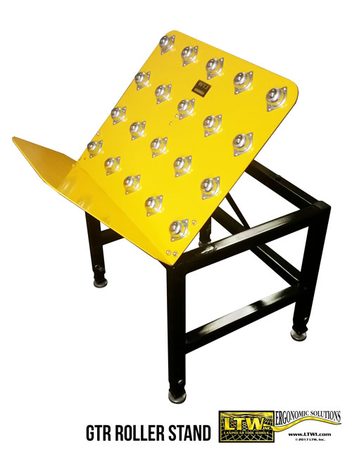 General Tilt Rolling Stand for Box Packing - LTW Ergonomic Solutions