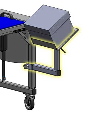LTW Accessory Arm for Workstations and Industrial Bases by LTW Ergonomic Solutions