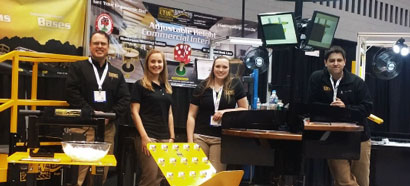 LTW at ProMat Show with Height Adjustable Industrial Tables