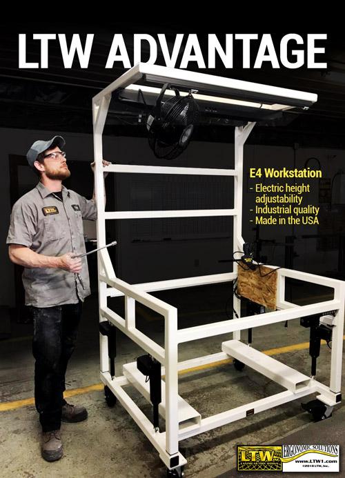 E4 Workstation - Height adjustable workstation - LTW Ergonomic Solutions IMG950071-we-work-hard-so-you-can-work-ergonomically