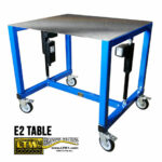 E2 Table - Height Adjustable Industrial Table by LTW Ergonomic Solutions