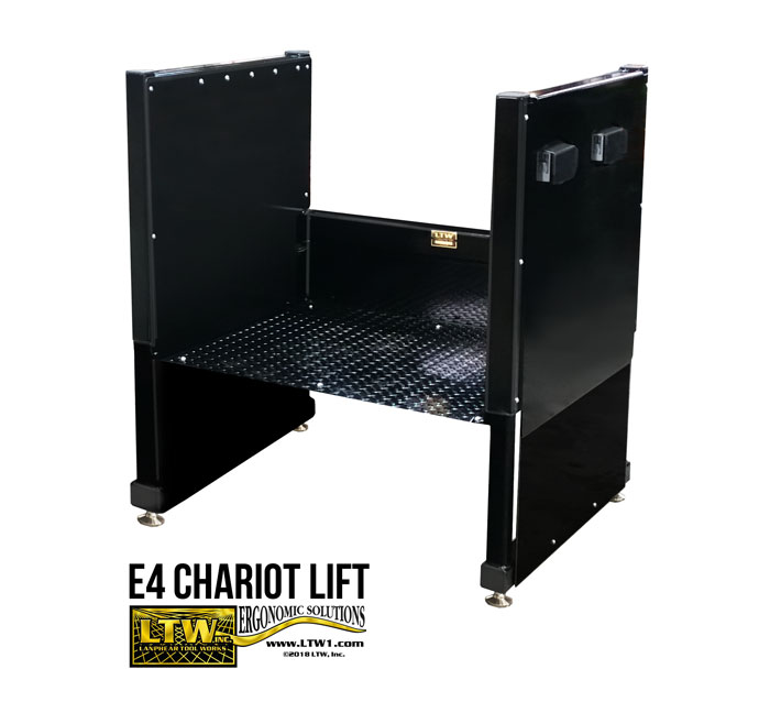 Operator Lift for Machines - Electric Personal Operator Platform E4 Chariot