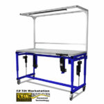 Adjustable Tilt Table Lowered - Ergonomic Height Adjustable Tilting Workstation by LTW Ergonomic Solutions