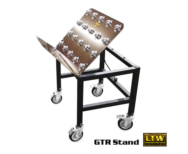 GTR General Tilt Rolling Stand for Ergonomic Packaging - LTW Ergonomic Solutions