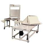 Industrially Height Adjustable Rotating Packing and Shipping Workstation by LTW Ergonomic Solutions